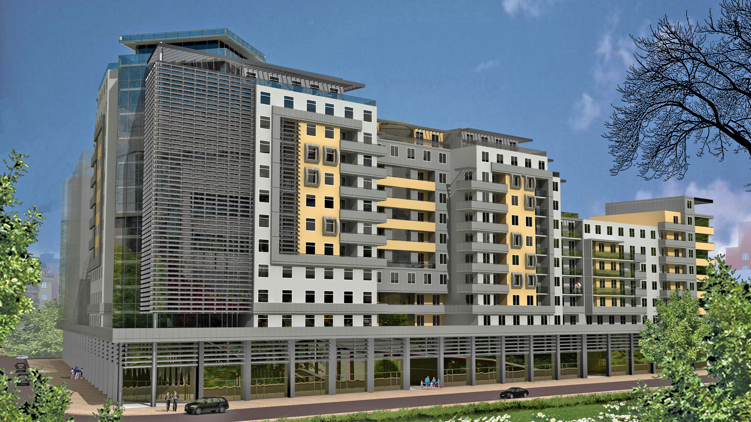 D Arch Studio Office And Residential Building Sofia